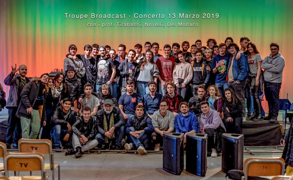 troupe broadcast